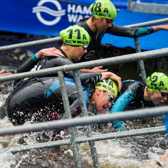 Deutschland verpasst Podium bei Triathlon-Staffeln (Foto)