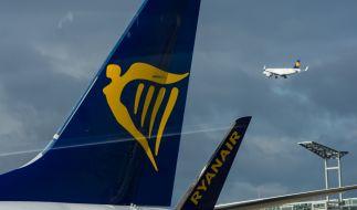 An Bord eines Ryanair-Flugzeugs hat es technische Probleme gegeben. (Foto)