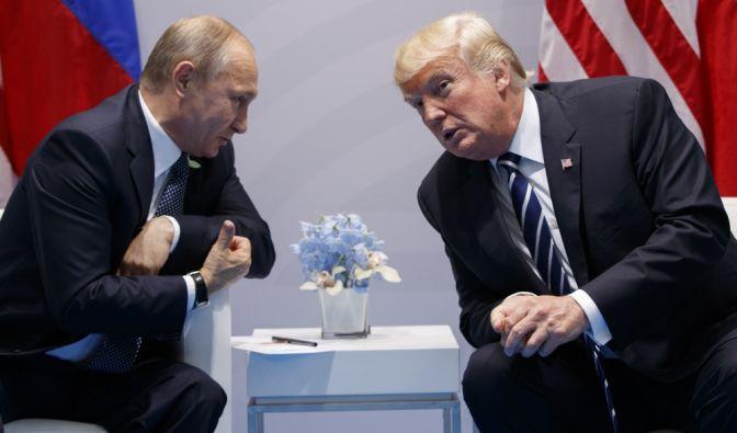 Donald Trump hofft auf einen guten Draht zu Wladimir Putin. (Foto)