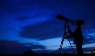 Die Perseiden sind am Himmel zu sehen. (Foto)