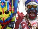 Die skurrilsten Fans der WM 2018 in Russland