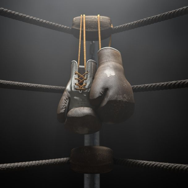 Wrestling-Lady zieht im Ring blank (Foto)