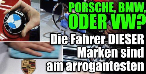 Automarken und das Image ihrer Fahrer (Foto)