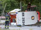 Schwerer Unfall in Hamburg