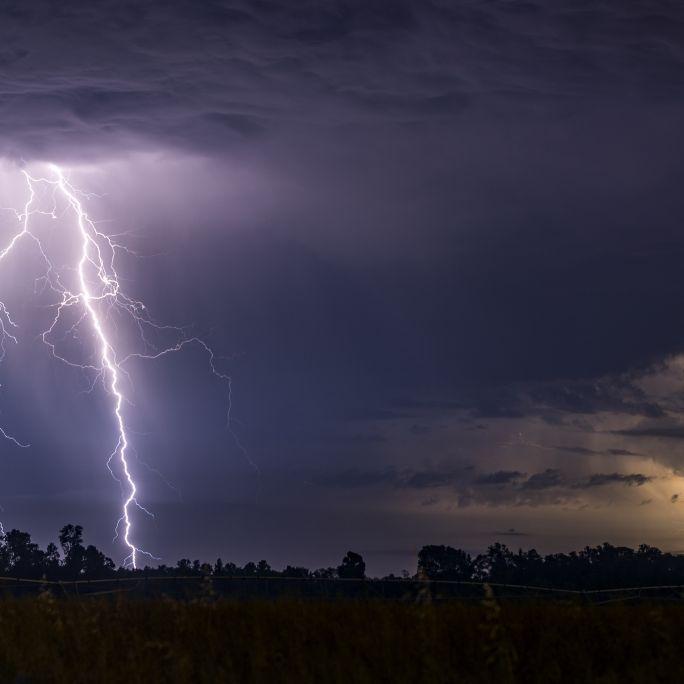 Unwetter-Warnung nach Dauer-Hitze! HIER drohen Gewitter und Hagel (Foto)