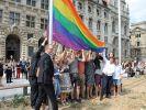 CSD Leipzig und die Regenbogenflagge des Christopher Street Day