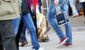 Auch an diesem Sonntag haben wieder zahlreiche Geschäfte geöffnet. (Foto)