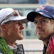 Schumi verhindert Sebastian Vettels Rücktritt (Foto)