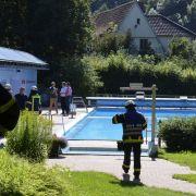 Freibad nach Chlorgasaustritt evakuiert (Foto)