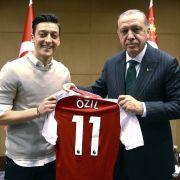 Das umstrittene Foto mit dem türkischen Präsidenten Erdogan.