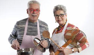 """Bernd Moritz Neuner-Duttenhofer und Martina Meuth sind seit Jahrzehnten mit ihrer Sendung """"Kochen mit Martina und Moritz"""" erfolgreich. (Foto)"""