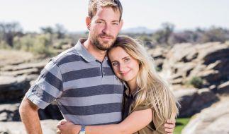 """Bauer Gerald und Freundin Anna lernten sich bei """"Bauer sucht Frau"""" kennen. (Foto)"""