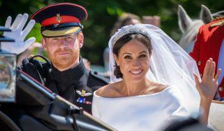 Laut britischen Medien könnten Prinz Harry und Meghan Markle sogar Zwillinge erwarten. (Foto)