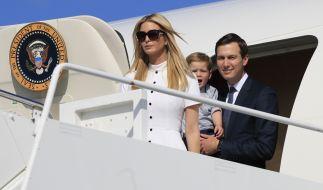 Donald Trumps Tochter Ivanka gibt US-Medien zufolge ihre Modemarke auf. (Foto)