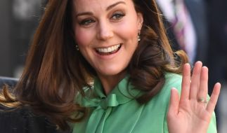 Kate Middleton ist eine tolle Mutter. (Foto)