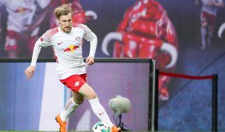 RB Leipzig mischt mit Emil Forsberg in der Europa League 2018/19 mit. (Foto)