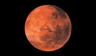 Forscher haben flüssiges Wasser am Südpol des Mars entdeckt. (Foto)