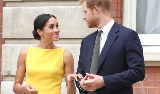 Angeblich soll der Baby-Name von Herzogin Meghans und Prinz Harrys Kind bereits feststehen. (Foto)