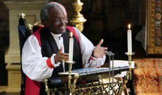 Bischof Michael Curry, der bei der Trauung von Meghan Markle und Prinz Harry eine bedeutende Rede gehalten hat, ist an Krebs erkrankt. (Foto)