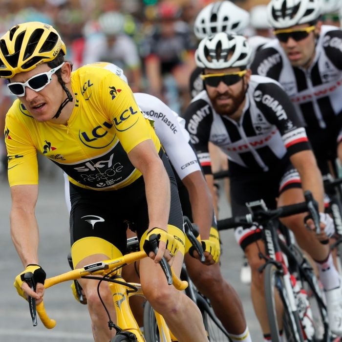 Britischer Radprofi Thomas gewinnt Gesamttour (Foto)