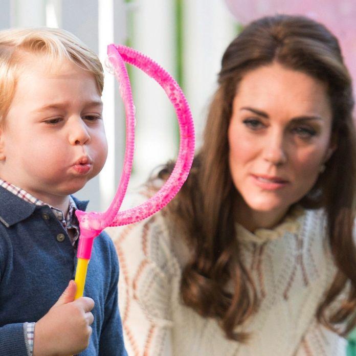 Schock-Meldung! Messerangriff wegen ihres Sohnes Prinz George (Foto)