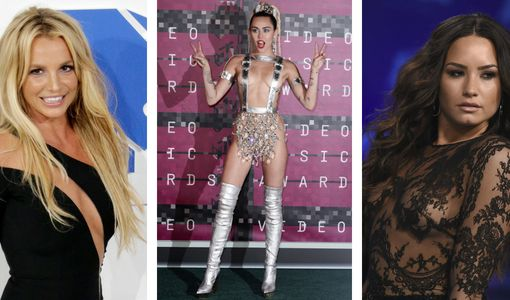 Demi Lovato, Britney Spears, Miley Cyrus