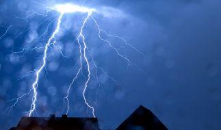 Unwetter sorgen nur minimal für Abkühlung. (Foto)