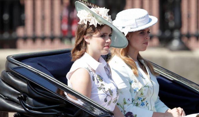 Prinzessin Eugenie und Beatrice