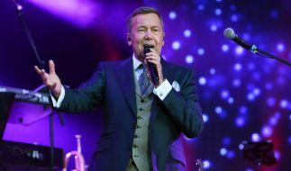 """Roland Kaiser bei einem Konzert der """"Kaisermania 2016"""". (Foto)"""