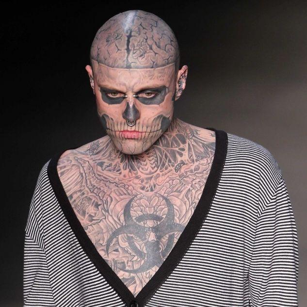 Rick Genest (32) ist tot!Tattoo-Model begeht Suizid (Foto)