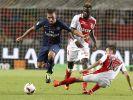 Im Supercup Frankreich treffen die Spieler von Paris Saint-Germain auf den AS Monaco. (Foto)
