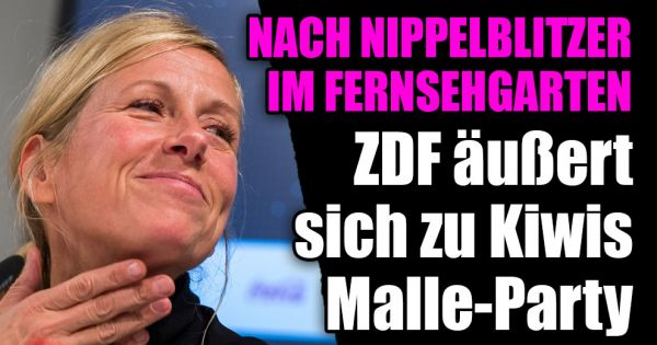Scandal About Andrea Kiewel Das Says That Zdf To Nippelblitzer In