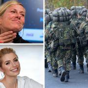 Lena Gercke verführt im Einteiler // ZDF zum Fernsehgarten-Skandal // Wehrpflicht gefordert (Foto)