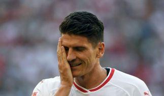 Mario Gomez zieht sich von der deutschen Nationalelf zurück. (Foto)
