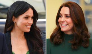 Kate Middleton und Meghan Markle sollen beide versuchen, (erneut) schwanger zu werden. (Foto)