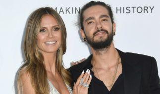 Ein Instagram-Video beweist: Heidi Klum und Tom Kaulitz können auch im Urlaub auf Capri nicht voneinander lassen. (Foto)