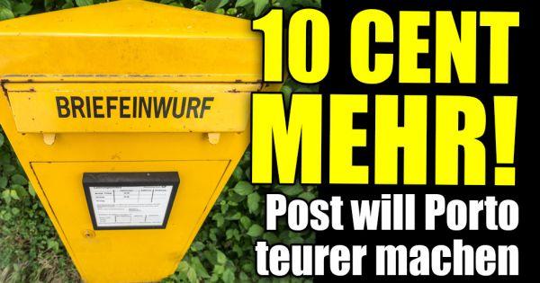 Preiserhöhung Für Standardbriefe 10 Cent Mehr Post Plant Fette