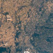 Schockierend! Vertrocknetes Deutschland von ISS fotografiert (Foto)