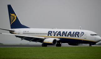 Viele Ryanair-Maschinen bleiben am Freitag am Boden. (Foto)