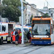 21 Verletzte bei Straßenbahnen-Crash (Foto)