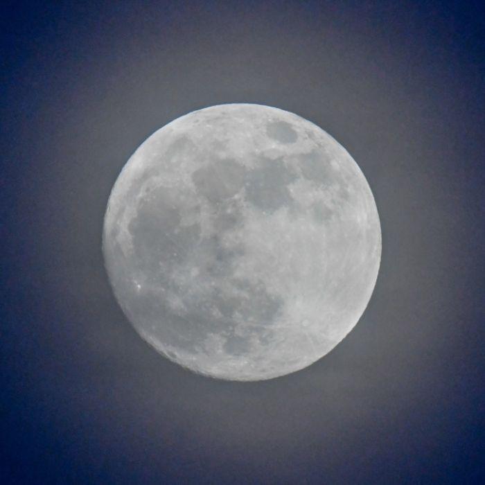 Heute Blauer Supermond am Himmel zu sehen (Foto)