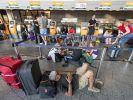 Wegen eines Gewitters hat der Flughafen Frankfurt vorübergehend seinen Betrieb eingestellt. (Foto)