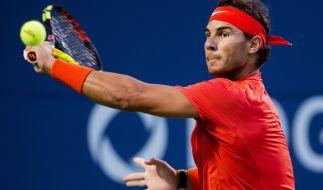 Rafael Nadal steht im Finale des Rogers Cup 2018. (Foto)