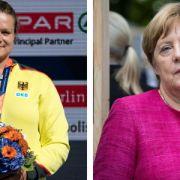 Sportler sauer: Angela Merkel schwänzt Leichtathletik-EM! (Foto)