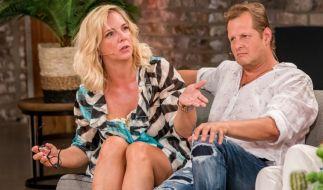 """Daniela und Jens Büchner schafften es nicht ins """"Sommerhaus""""-Finale. (Foto)"""