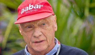 Niki Lauda erholt sich derzeit von einerLungentransplantation. (Foto)