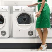 Für die Klicks! Frau steckt Hund in die Waschmaschine (Foto)
