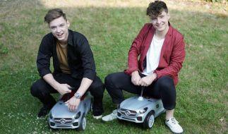"""Heiko (li.) und Roman Lochmann (re.) sind als """"Die Lochis"""" vor allem bei Teenagern beliebt. (Foto)"""