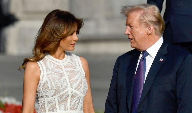 Donald Trump getrennt?