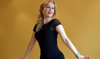 """RTL-Moderatorin Katja Burkard wagte sich 2015 für """"Let's Dance"""" aufs Tanzparkett. (Foto)"""
